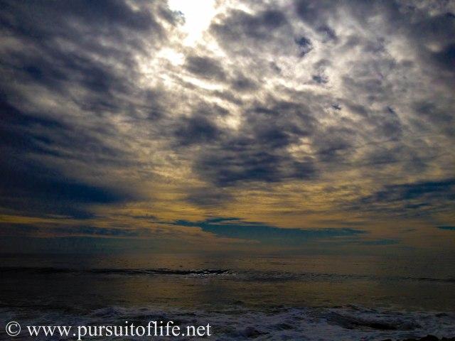 Stormy winter day at Santa Barbara