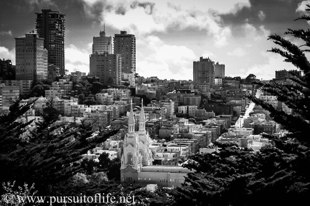 San Francisco from Telegraph Hill