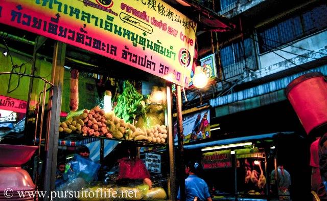 A Bangkok street scene
