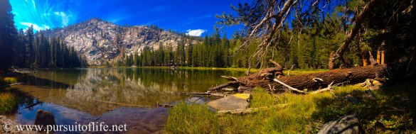 Hike to Twin Lakes, Kaiser Wilderness, Sierra Nevada