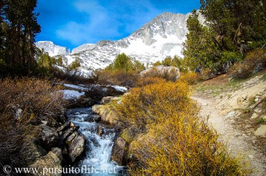 Little Lakes Valley, Eastern Sierra, California